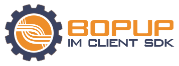 Click to view Bopup IM Client SDK 1.2 screenshot